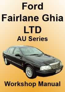 Ford Fairlane Ghi LTD Workshop Manual