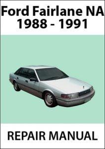 Ford Fairlane NA Workshop Manual