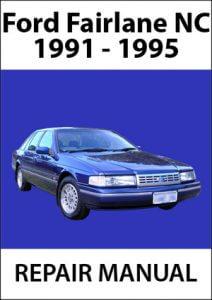 Ford Fairlane NC Workshop Manual