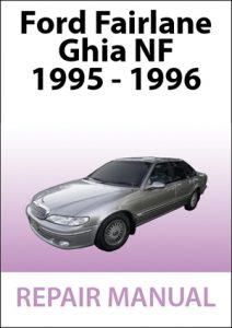 Workshop Manual Ford Fairlane Ghia NF
