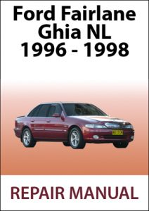 Ford Fairlane Ghia NL Workshop Repair Manual