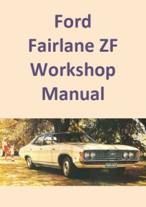 Ford Fairlane ZF Workshop Manual