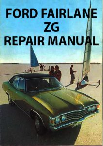 Ford Fairlane ZG Workshop Manual