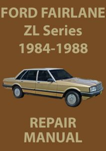 Ford Fairlane ZL Workshop Manual