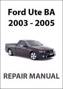 Ford Falcon Ute BA