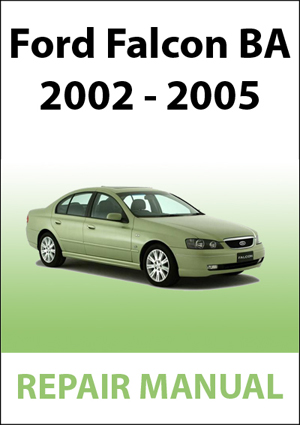 ford falcon ba workshop manual instant download